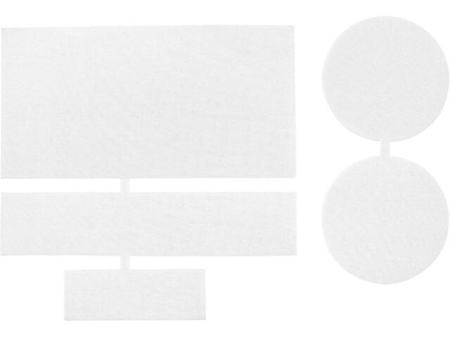CAMPZ Parches Reparadores Nylon 5 Piezas, blanco